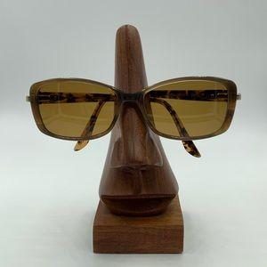 Bob Mackie Brown Oval Sunglasses Frames
